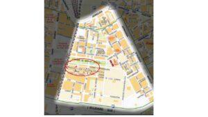 Plano de Ubicación del Alcanforero en Malilla