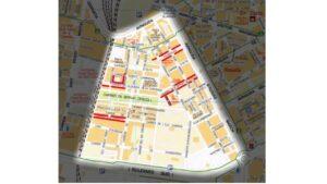 Localización Morera Blanca en el Barrio de Malilla